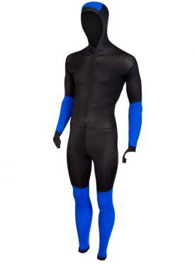 Craft Speed Eislaufanzug CB Schwarz/Blau Unisex
