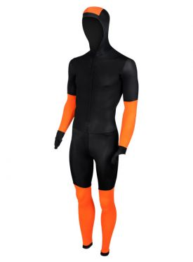 Craft Speed Eislaufanzug CB Schwarz/Orange Unisex