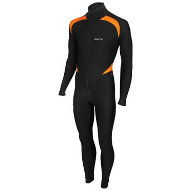 Craft Thermo Eislaufanzug CB Schwarz/Orange Unisex