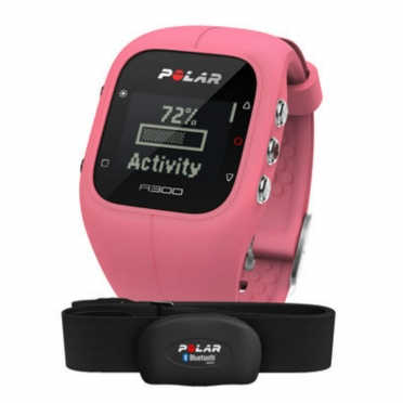 Polar A300 sports watch Rosa with heart rate
