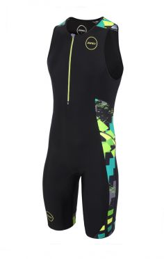 Zone3 Activate Plus Ärmellos Trisuit Electric sprint Herren