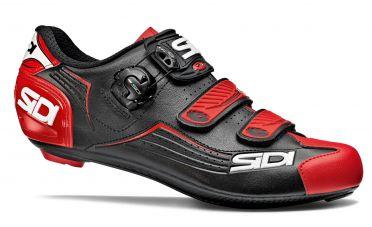 Sidi Alba Rennradschuh Schwarz/Rot Herren
