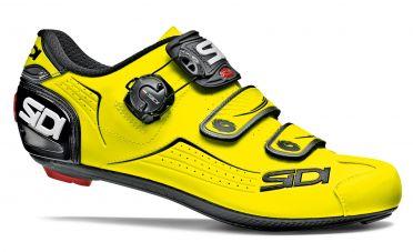 Sidi Alba Rennradschuh Gelb/Schwarz Herren