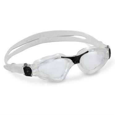 Aqua Sphere Kayenne klare Linse Schwimmbrille Silber