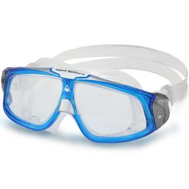 Aqua Sphere Seal 2.0 Klarglas Schwimmbrille blau/weiß