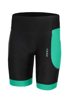 Zone3 Aquaflo plus tri shorts Schwarz/Mint Damen