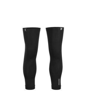 Assos Kniewärmer UV-beständig schwarz unisex