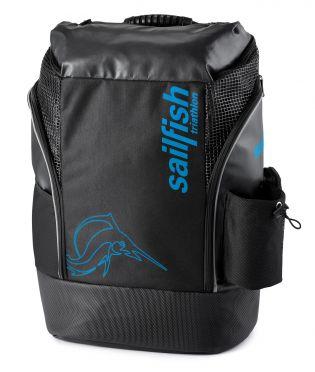 Sailfish Triathlon Rucksack Cape Town 35 Liter Schwarz/Blau