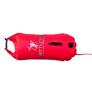 BTTLNS Saferswimmer Sicherheitsboje 28 liter Poseidon 1.0 Rot