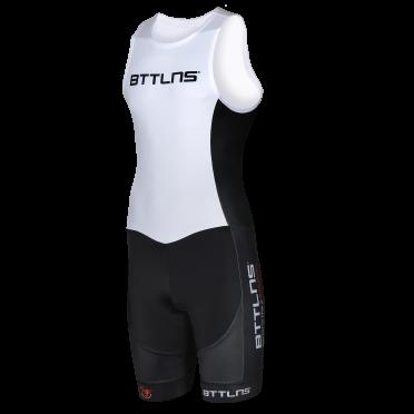 BTTLNS Gods ITU Trisuit Ärmellos Weiß Nemesis 1.0