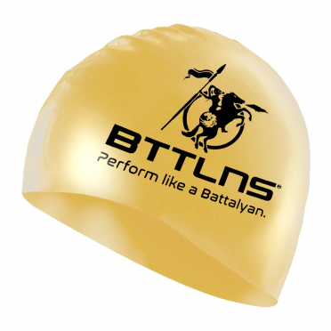 BTTLNS Silicone Badekappe Blessed Gold Absorber 2.0