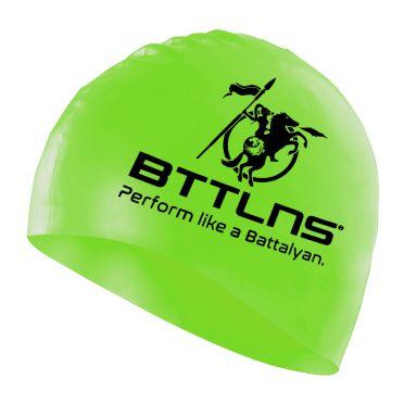 BTTLNS Silicone Badekappe Neon-Grün Absorber 2.0