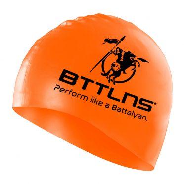 BTTLNS Silicone Badekappe Neon-Orange Absorber 2.0