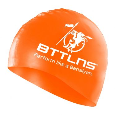 BTTLNS Silicone Badekappe Orange Absorber 2.0