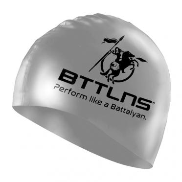BTTLNS Silicone Badekappe Prestige Silber Absorber 2.0