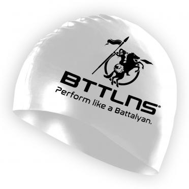 BTTLNS Silicone Badekappe Weiß Absorber 2.0
