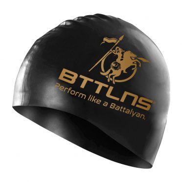 BTTLNS Absorber 2.0 Silicone Badekappe Schwarz-Gold