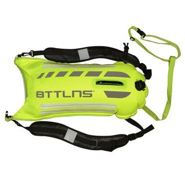 BTTLNS Saferswimmer Sicherheit beleuchtete Schwimmboje Scamander 2.0 Neon Grün