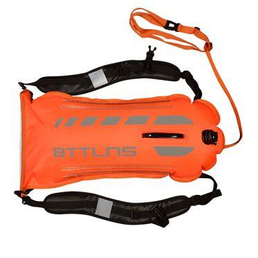 BTTLNS Saferswimmer Sicherheit beleuchtete Schwimmboje Scamander 2.0 Orange