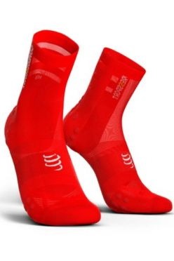 Compressport V3.0 ultralight Radsocken Rot