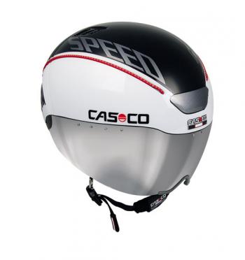 Casco SPEEDtime Fahrradhelm Schwarz/Weiß
