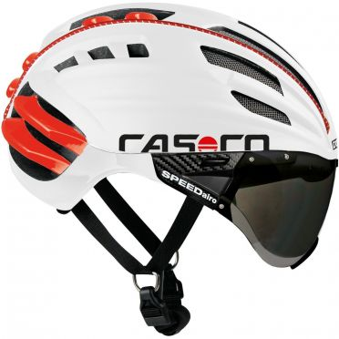 Casco SPEEDairo Fahrradhelm Weiß/Rot
