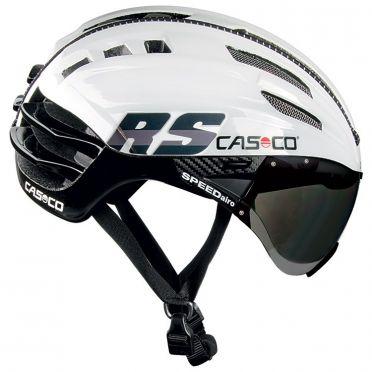 Casco SPEEDairo RS Fahrradhelm Weiß/Schwarz