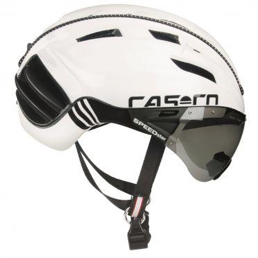 Casco SPEEDster TC plus Fahrradhelm Weiß/Schwarz