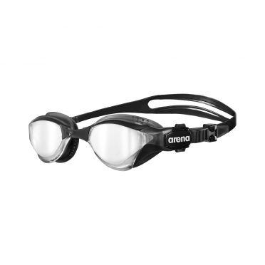 Arena Cobra Tri mirror Triathlon Schwimmbrille Silber/Schwarz