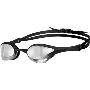 Arena Cobra Ultra mirror Schwimmbrille Silber/Schwarz