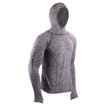 Compressport 3D thermo seamless hoodie Grau