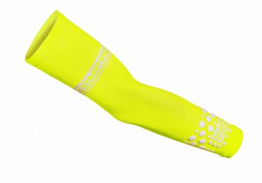 Compressport Armforce Compression Armlinge Gelb
