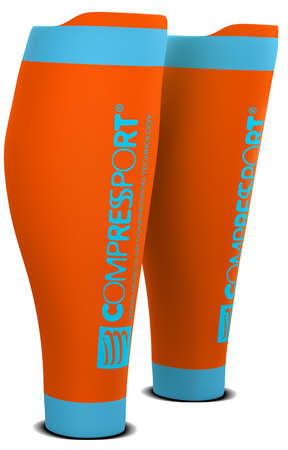 Compressport R2 v2 Wadenkompressoren Orange