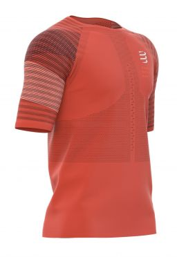 Compressport Racing Kurzarm t-shirt Orange Herren