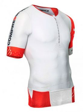 Compressport Tr3 aero top Compression Weiß