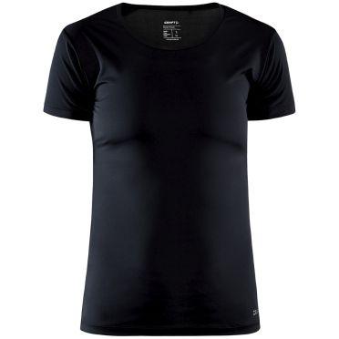 Craft Core Dry Unterhemd SS Schwarz Damen