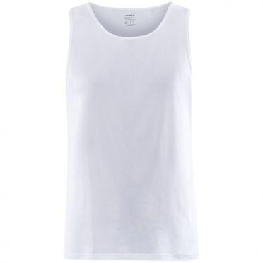 Craft Core Dry Singlet Unterhemd SS weiß Herren
