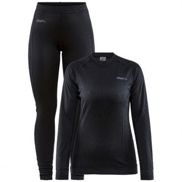Craft Core Dry Thermo Unterwäsche set schwarz Damen