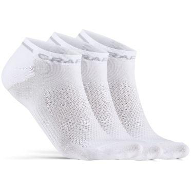 Craft Advanced Dry Mid Shaftless Socken Weiß 3-pack