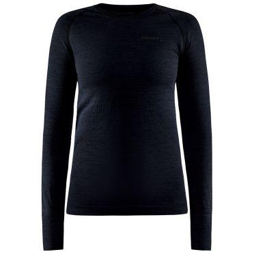 Craft Core Dry Active Comfort Langarmshirt Schwarz Damen
