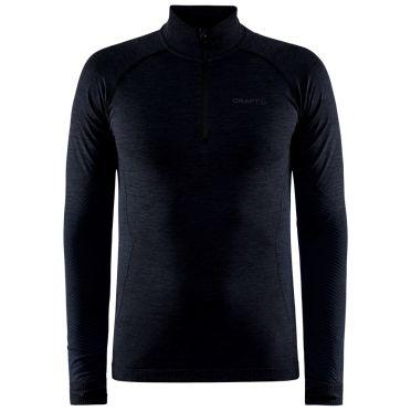 Craft Core Dry Active Comfort Pullover mit halbem Reißverschluss blau Herren