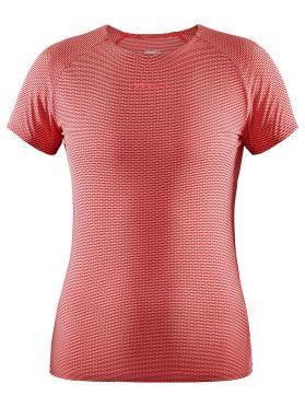 Craft Pro Dry Nanoweight Kurzarm Unterhemd Rosa Damen