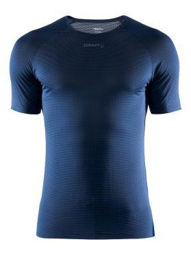 Craft Pro Dry Nanoweight Kurzarm Unterhemd Blau Herren