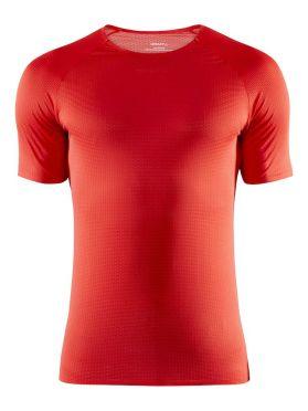 Craft Pro Dry Nanoweight Kurzarm Unterhemd Rot Herren