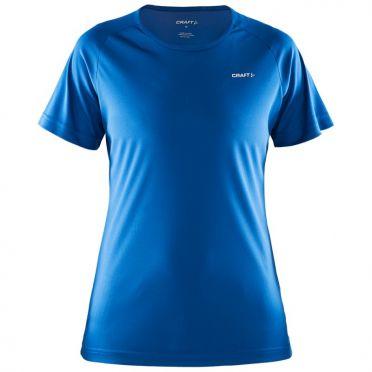 Craft Prime Kurzarm Laufshirts Blau Damen