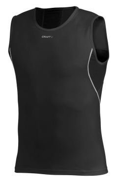 Craft Stay Cool Mesh sleeveless Shirt Schwarz Herren
