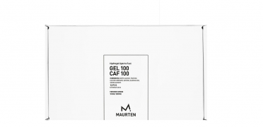 Maurten Gel 100 Box mit Kohlenhydraten & Koffein - 12x40g