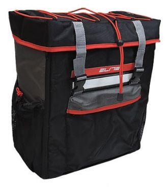 Elite Tri box transition rucksack Schwarz/Rot