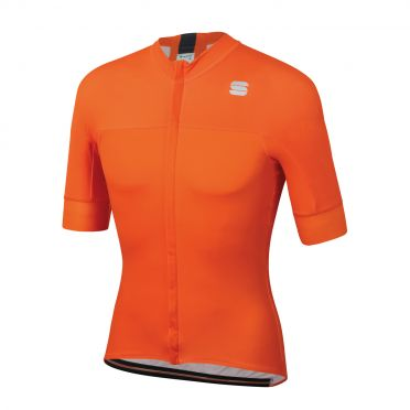 Sportful Bodyfit pro classic Radtrikot Kurzarm Orange Herren