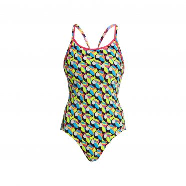 Funkita Toucan do it Eco Diamond Back Badeanzug Damen